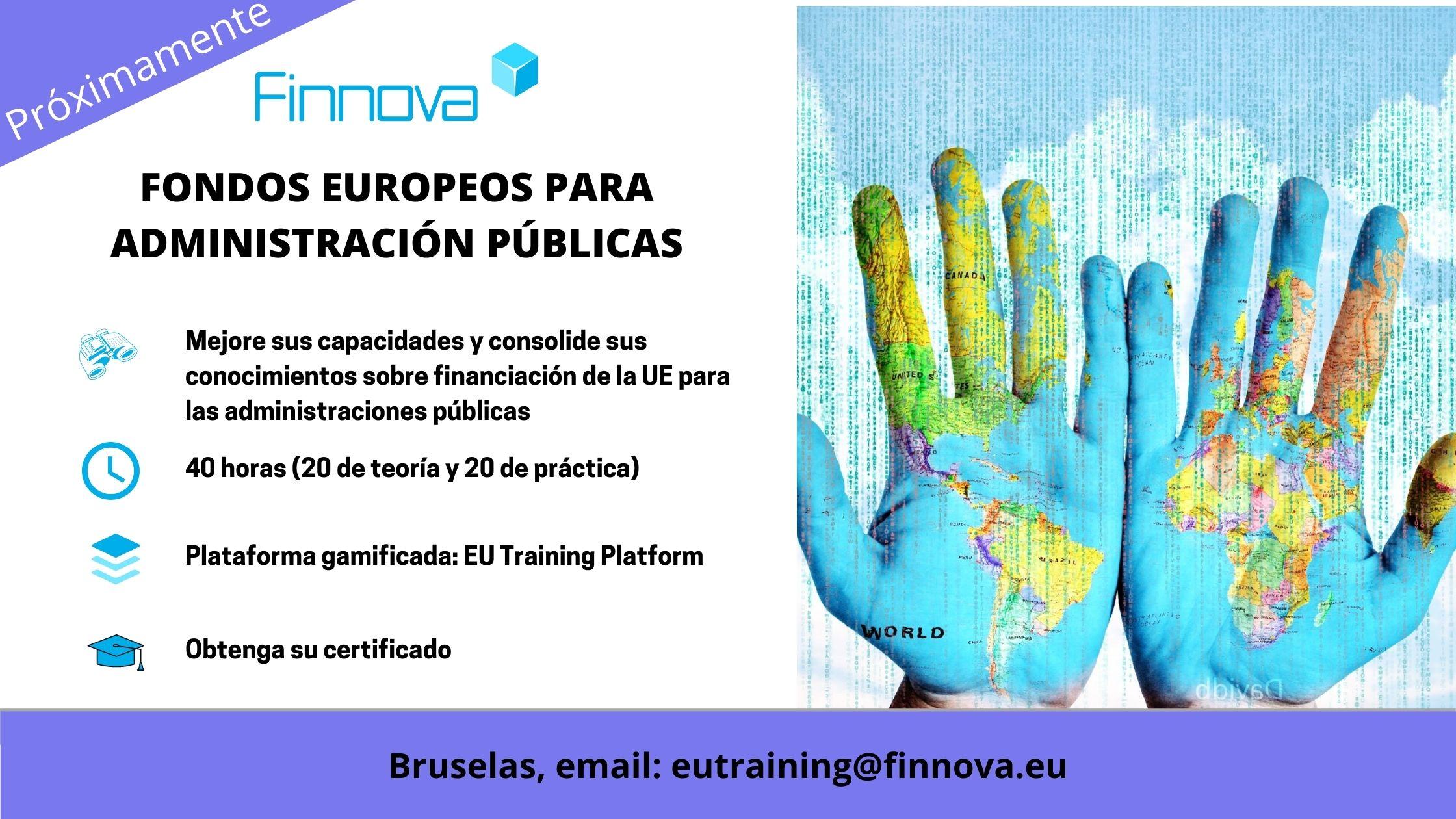 FONDOS EUROPEOS PARA ADMINISTRACIÓN PÚBLICAS