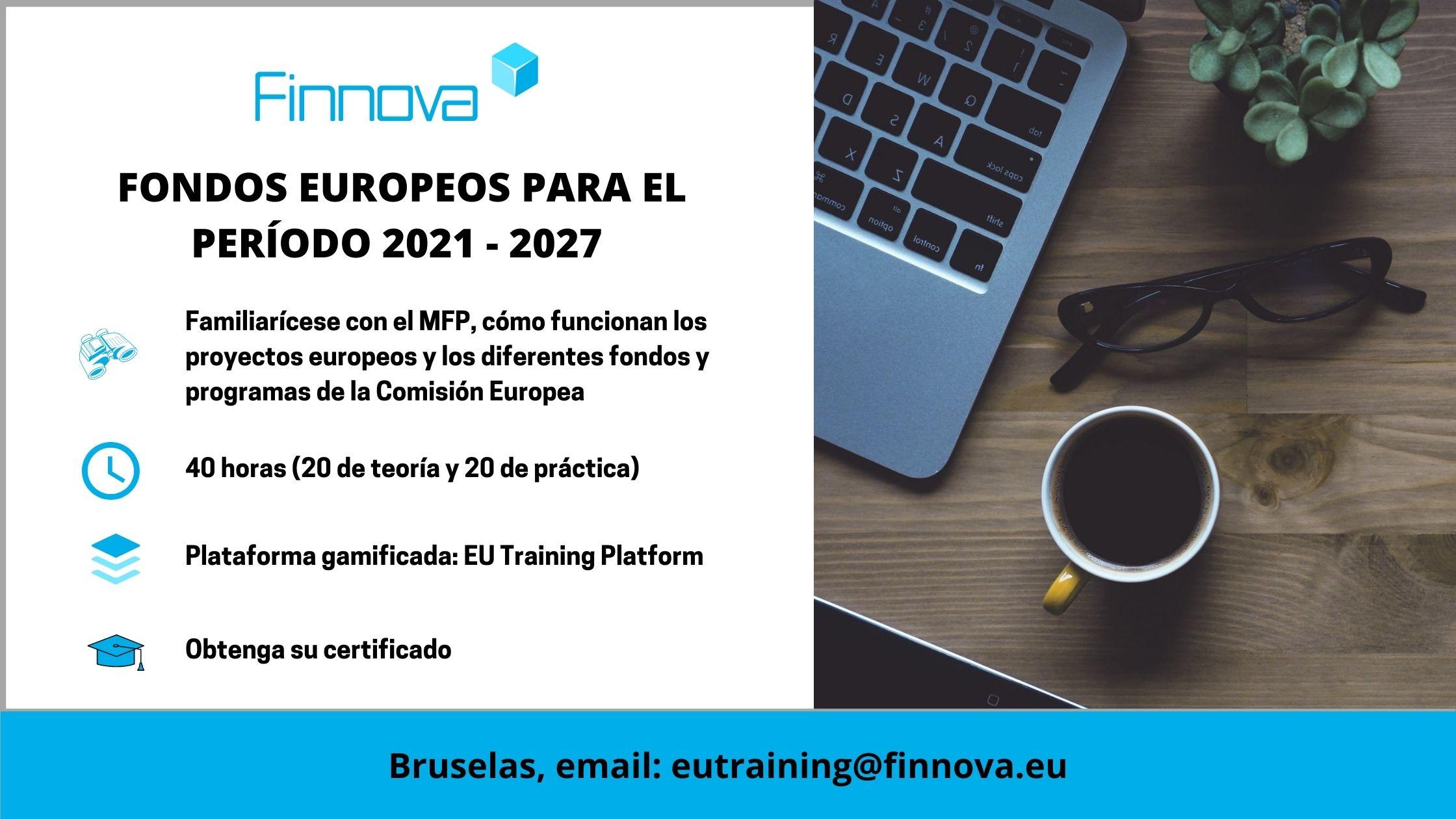 FONDOS EUROPEOS PARA EL PERÍODO 2021 - 2027_